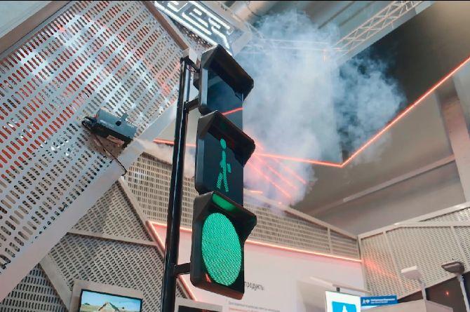 Лазерные светофоры представят на международном форуме в Екатеринбурге