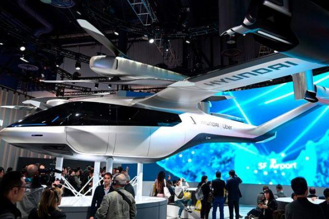 Hyundai планирует начать серийный выпуск летающих автомобилей в 2028 году