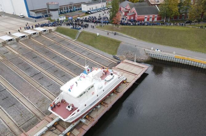 Первое российское судно-беспилотник спустят на воду в 2020 году