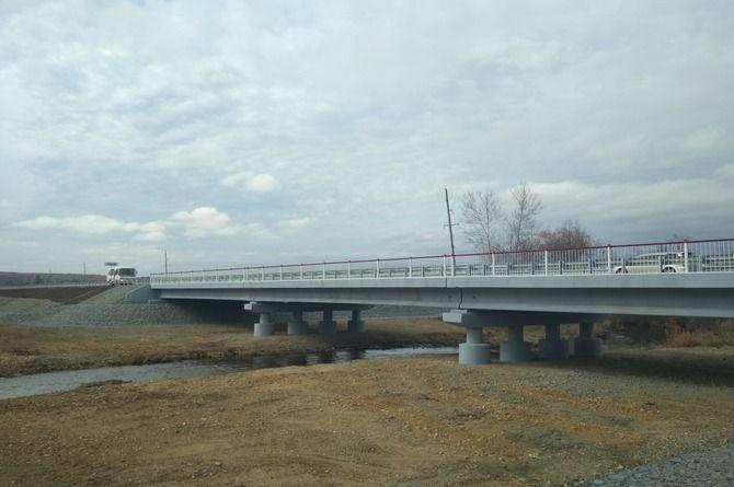 Восстановлен мост через реку Макча в Амурской области