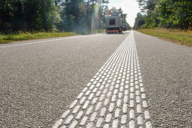 На дорогах Новосибирской области появится новая шумовая разметка