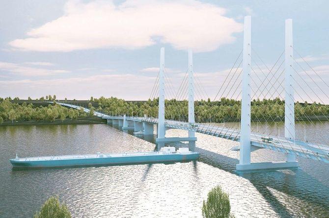 Возведение нового моста в Череповце будет софинансировано Минтрансом и Росавтодором