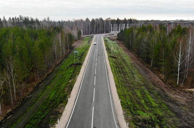 Дорогу Силикатный — Кучкуры в Ульяновской области открыли после капремонта