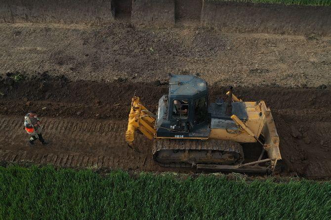 На территории строительства Дальнего западного обхода Краснодара начались археологические работы