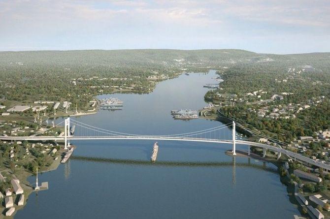 Откладывается строительство моста через Севастопольскую бухту