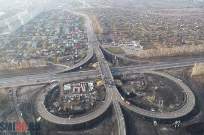 Открыто движение по новой развязке трассы М-5 через Пензу