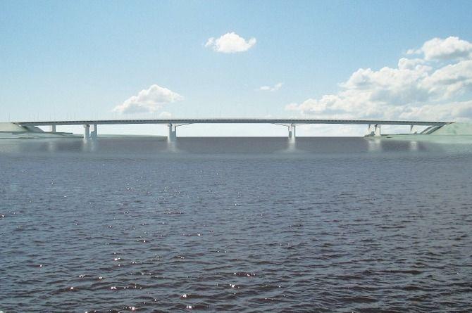 Выбран подрядчик для строительства моста через реку Свирь за 3,6 миллиарда рублей