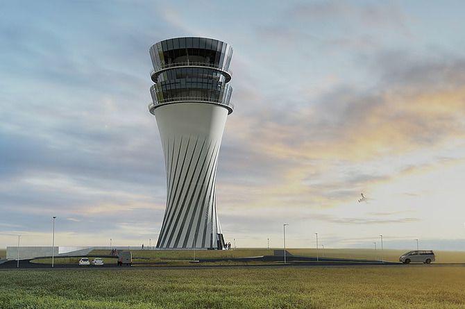 Новая диспетчерская вышка появится в аэропорту Симферополя в 2021 году