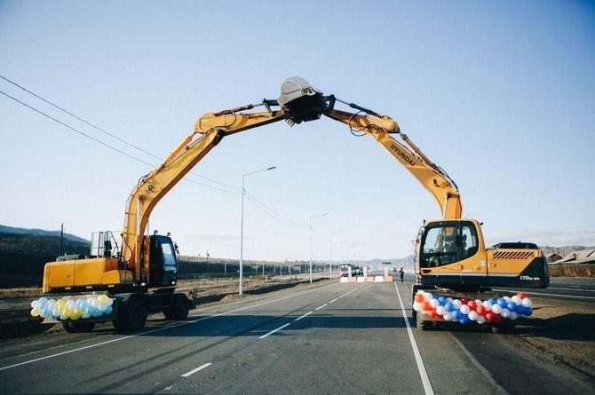 Отремонтирован участок трассы Р-258 «Байкал» в Бурятии