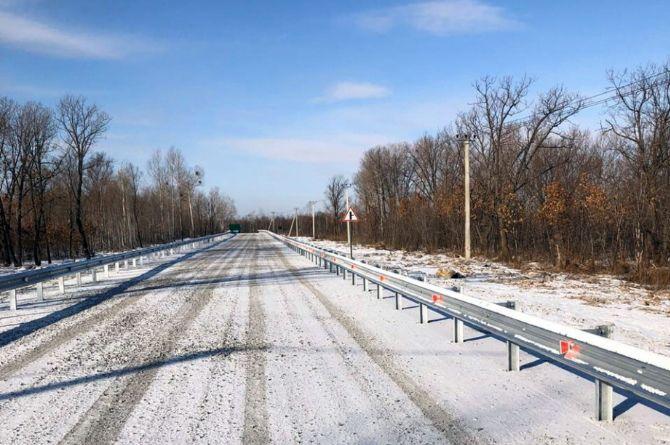 В Хабаровском крае введена в эксплуатацию первая подъездная дорога к «дальневосточным гектарам»