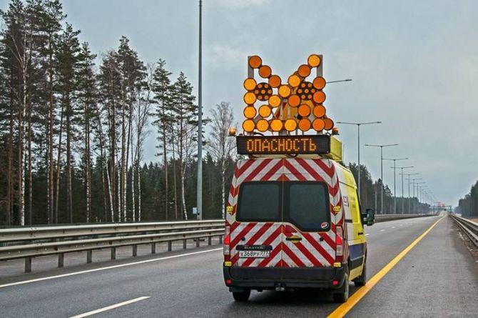 На трассах «Автодора» снизилось количество аварий с дорожной техникой