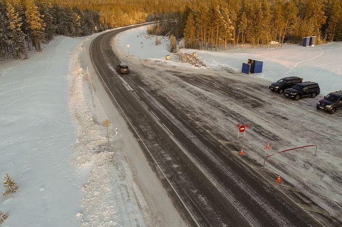 Закончен капитальный ремонт двух участков трассы Р-504 «Колыма» в Якутии