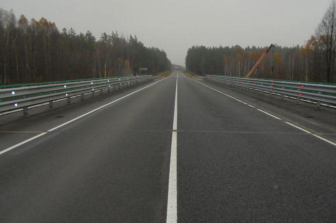 После капремонта открыт мост через реку Каменку в Брянской области
