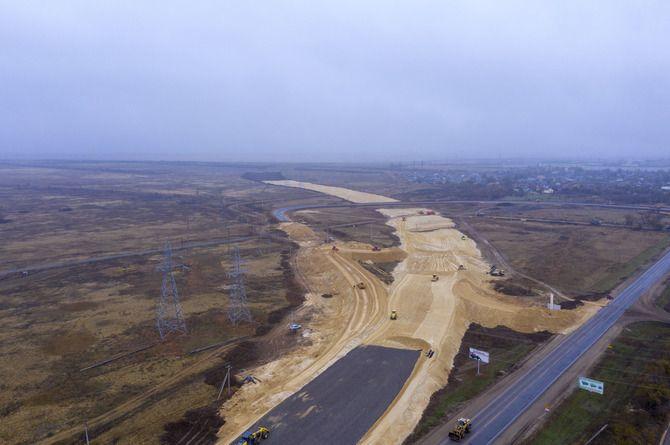 Началось строительство обхода микрорайона Горьковский в Волгограде