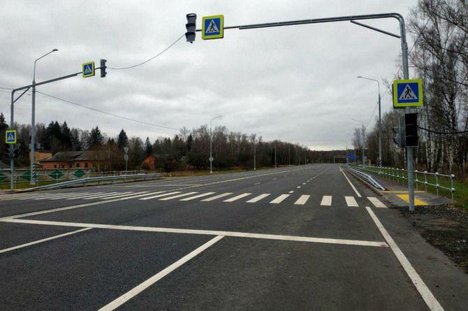 Более 12 километров Каширского шоссе сдали после капитального ремонта