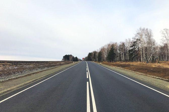 Досрочно завершён капитальный ремонт на двух участках трассы Р-255 «Сибирь»