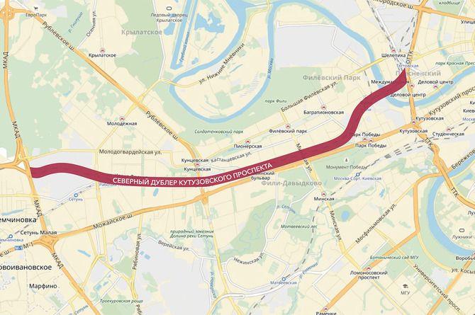 Сбербанк вложился в Северный дублёр Кутузовского шоссе