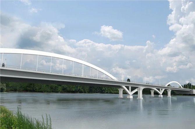Яблоновский мост между Кубанью и Адыгеей сдадут раньше срока