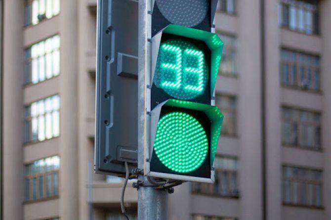 Московские светофоры переведут в режим работы выходного дня