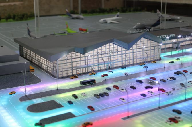 Новый аэровокзал построят в аэропорту Владикавказа