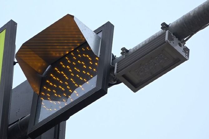 Пешеходные переходы на дорогах Подмосковья оборудуют лампами со сверхъяркими светодиодами