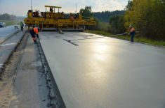 В Калужской области начнут строить цементобетонные дороги