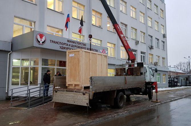 Дорожная лаборатория миндортранса Удмуртии закупила новое оборудование