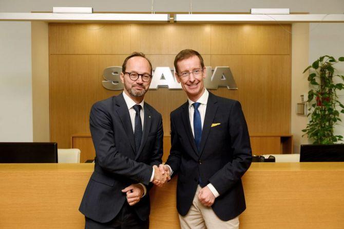 В российском представительстве Scania побывал шведский министр