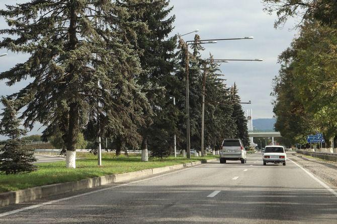 Ремонтируется участок трассы Р-217 «Кавказ» в Кабардино-Балкарии
