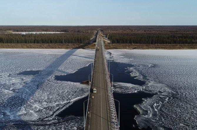 Росавтодор подписал контракт на проектирование моста через Вилюй в Якутии