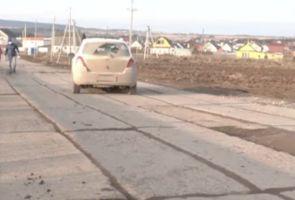 Жители пермской деревни просят Ангелу Меркель отремонтировать им дорогу