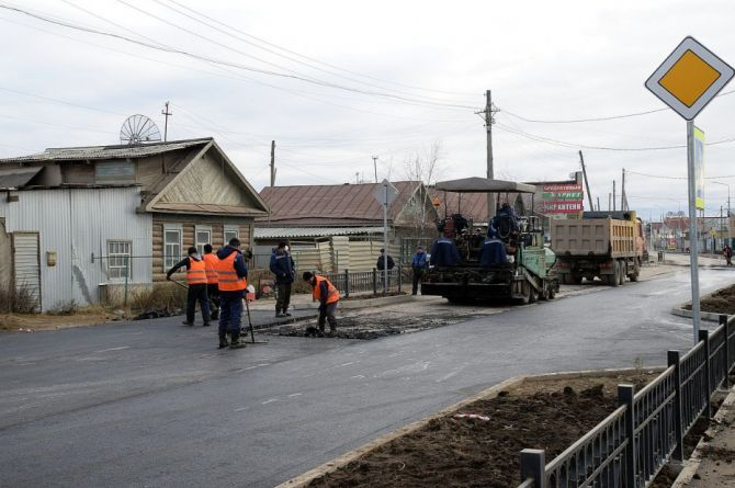 Якутские подрядчики работают в 2–3 смены