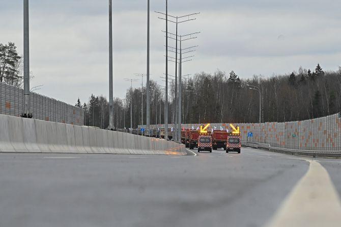 В Подмосковье торжественно открыли ЦКАД-3. Каждый километр трассы обошёлся в миллиард рублей