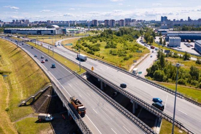 Определены сроки проектирования и порядок строительства развязки в петербургском Кудрове
