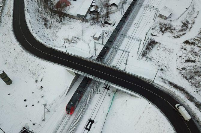 Путепровод у МЖД «Жаворонки»: ещё один многомиллиардный объект «Мостотреста»