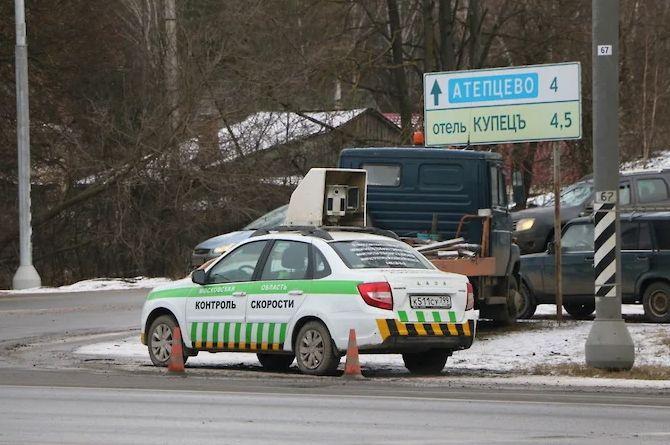 На дороги Подмосковья выехали Lada Granta, оснащённые камерами фиксации нарушений