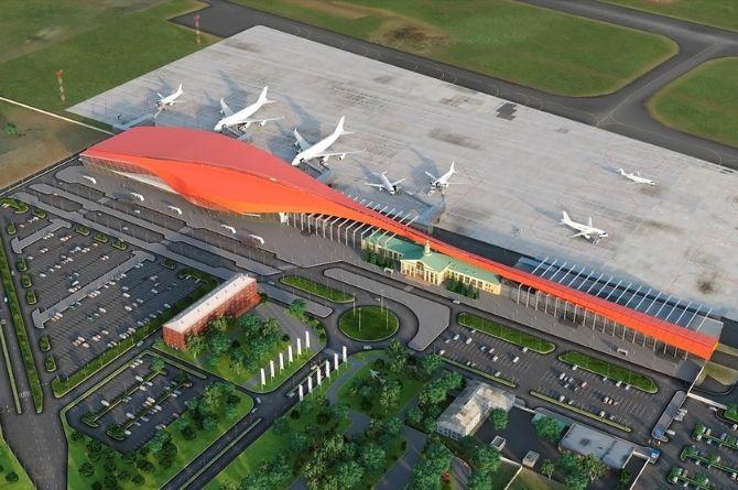 В челябинском аэропорту расширяют международный терминал