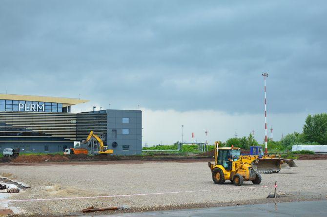 Реконструкция аэропорта в Перми опаздывает на полгода, Росавиация требует ускориться