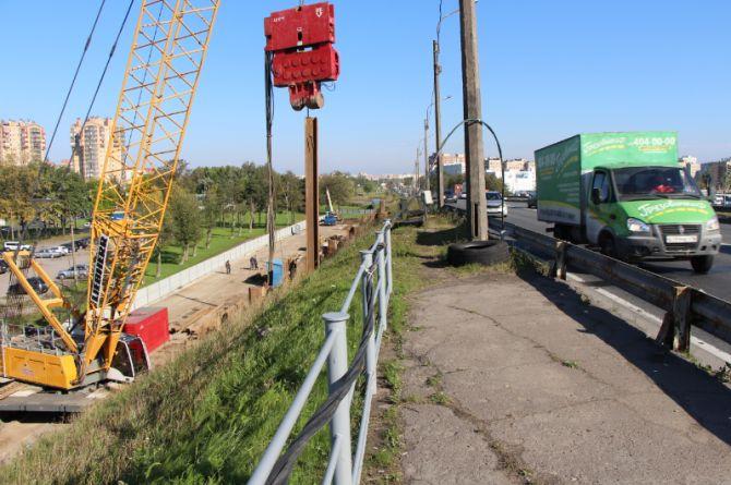 Лиговский путепровод. Фото: pylon.ru