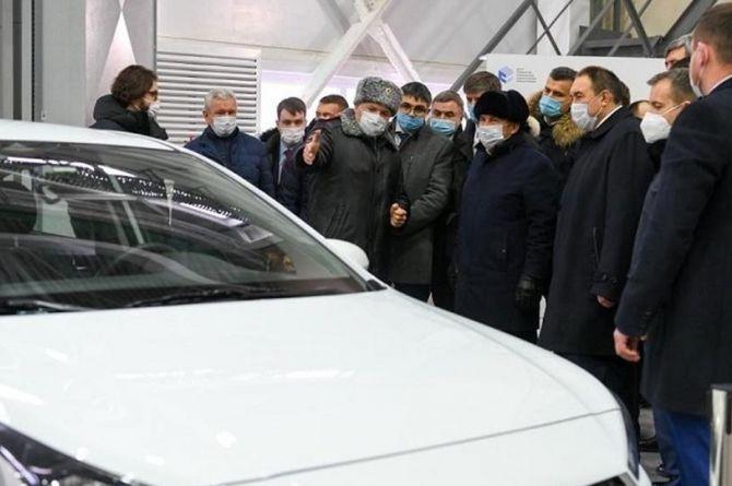 В Казани разработали «экзаментор» - это автомобиль, который умеет принимать экзамен на права
