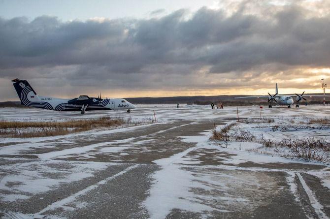 Реконструкция аэропорта на Сахалине проходит с опережением графика