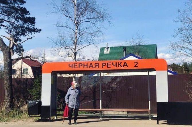 В Ленинградской области появилась «противоаварийная» остановка с демпфером