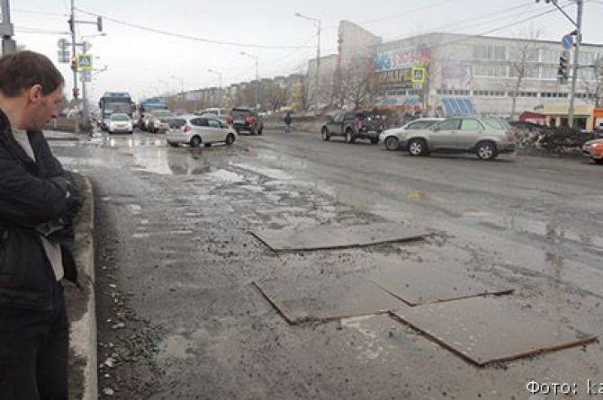 Пол-ляма за ямы: прокуратура накажет штрафом службу автомобильных дорог Петропавловска-Камчатского