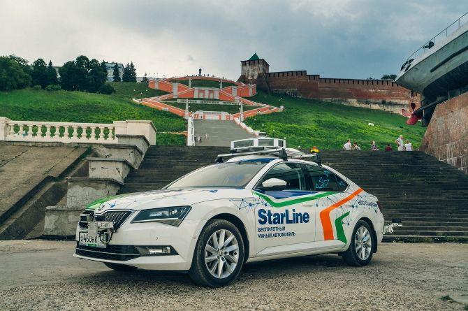 Российский беспилотник StarLine планируют протестировать на дорогах Петербурга