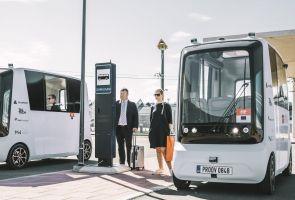 В Эстонии запустили первые в мире беспилотные шаттлы на водороде
