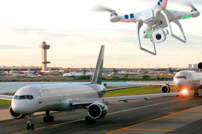 Аэропорты Домодедово и Внуково ищут системы защиты от дронов