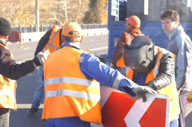 Ремонт моста в столице Хакасии завершился раньше срока