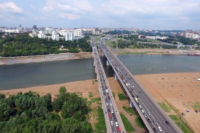 С третьего раза удалось заключить контракт на строительство нового моста в Уфе