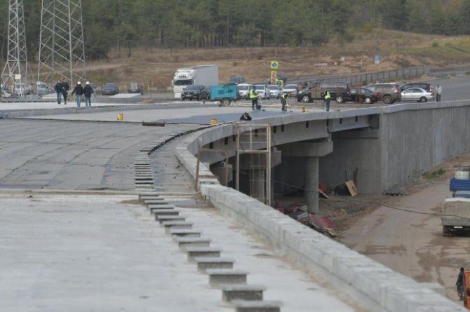 В Самарской области сорвали сроки строительства развязки на М-5