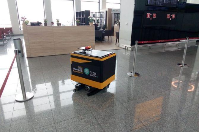 В аэропорту Домодедово решили мыть полы с помощью роботов